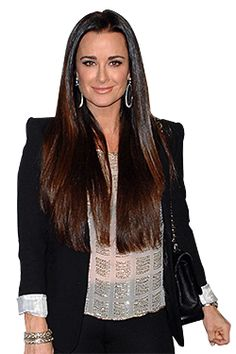 Kyle Richards, love her! Down to earth, hot husband, beautiful dresser! Oh and she's the Aunt of Paris Hilton (note to Paris -look up up your aunt Kyle!)