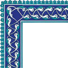 10x20 KS-44 Cini Desen Rumi Bordur