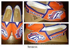 Denver Broncos Shoes