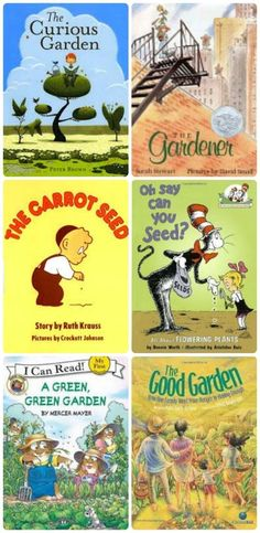 Gardening Books with 50+ fun gardening activities for kids --