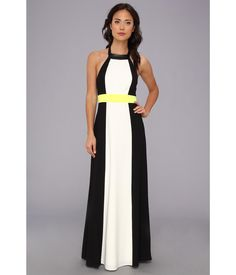 Transition seamlessly from day to night in this sophisticated Vince Camuto™ maxi dress.. Color blo...