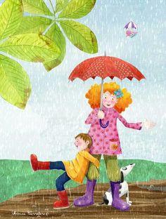 umbrellas.quenalbertini: Monica Carretero Art