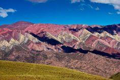Serranías del Hornocal, una de las maravillas naturales más espectaculares de la Quebrada de Humahuaca. VIAJAR AHORA