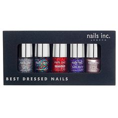 76c93d6c Compare prices on nails inc best dressed nails collection Nail Care on  PriceRunner to help you find the best deal online