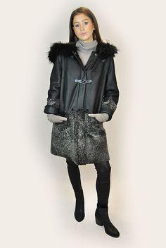 SHOP NOW! Sheepskin Coat, Shop Now, Shopping, Collection, Black, Fashion, Moda, Shearling Coat, Black People