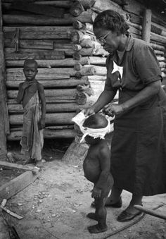 Nurse midwife Maude Callen, South Carolina, 1951
