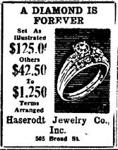 De Beers have used this as a slogan since 1948