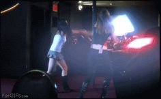Catfight! Lightsaber Style... just what could go wrong?