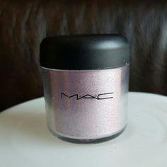 MAC AUTHENTIC Pigment Kitschmas MAC AUTHENTIC PIGMENT IN KITSCHMAS  Beautiful baby pink Pigment  Still has lots of product left MAC Cosmetics Makeup