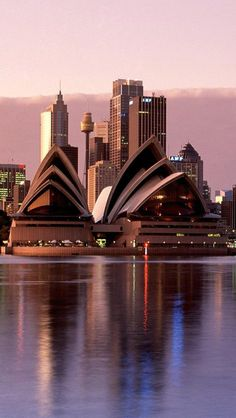 The Sydney Opera House...one day i will go...but not until i have enough miles to fly first class...18 hours is a long time for the blood clotting gurl.