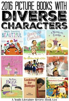 2016 Picture Book Releases Featuring Diverse Characters