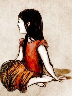 Autumn orange child  Roberta Santi