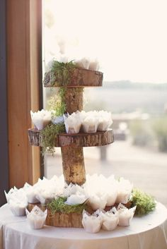 Translucent cupcake wrappers: http://www.stylemepretty.com/2015/03/19/the-prettiest-wedding-cupcakes-ever/