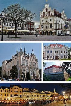 Collage of views of Rzeszów, Poland. Tatra Mountains, European Countries, Central Europe, Most Beautiful Cities, Krakow, Future Travel, Warsaw, Eastern Europe, National Parks
