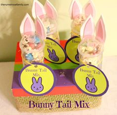 Bunny Tail Mix- instead of Trail Mix
