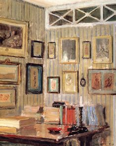 peira:  Walter Gay:  The Artist's Study, rue de l'Université (c.1910) via The Athenaeum