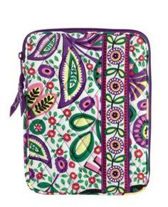 7a6075bd6b Vera Bradley E-Reader Tablet Sleeve Viva la Vera Vera Bradley E-Reader  Tablet Sleeve. L-Shape opening