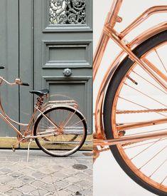 Van Heesch's copper bike / anthropologie