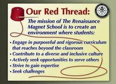 Renaissance Expeditionary Learning Outward Bound School's mission