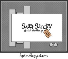 the sweetest thing...: Sweet Sunday Sketch Challenge 204