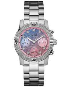 GUESS Women's Stainless Steel Bracelet Watch 37mm U0774L1 | macys.com