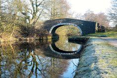 Frosty Morning: Bridge 147, Foulbridge, Leeds & Liverpool Canal, March 2015. Photo: Jez Eliot