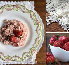 Briciole di Sapori: Risotto alle fragole... una ricetta dimenticata