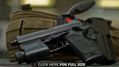 USP Gun Closeup