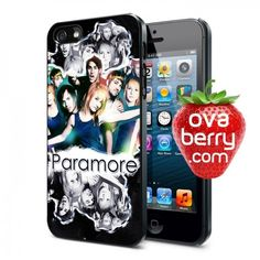 Paramore Twilight Rock Band iPhone and Samsung Galaxy Phone Case