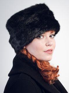 7efa4812314 Cossak Black Faux Fur Hat
