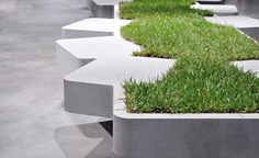 Grass bench « Journal