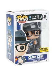 Funko DC Comics Pop! Heroes Clark Kent Vinyl Figure Hot Topic Exclusive | Hot…