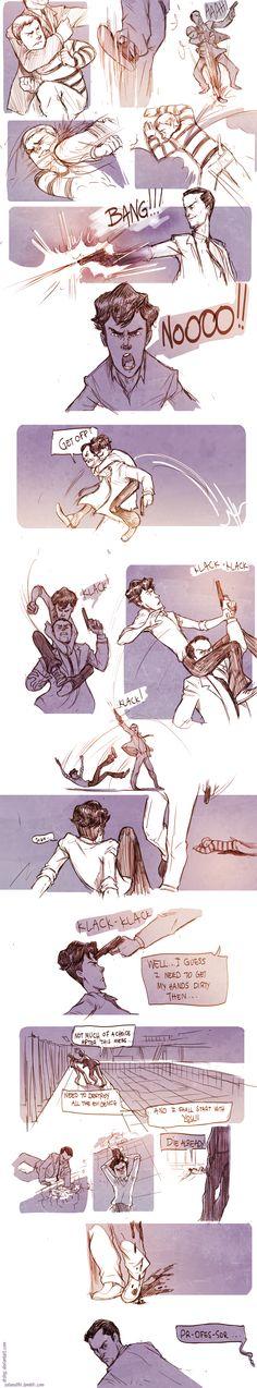 Teen Sherlock- The Boomerang Pt4 by DrSlug.deviantart.com on @deviantART