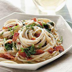 Pasta Carbonara Florentine |