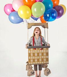 Riding in a Hot Air Balloon