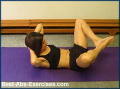 do the Frog! begin to target the lower abdominal. This is a Pilates move - very effective!