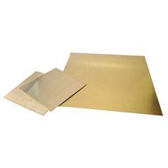 """Brass Sheets - 24 Gauge 6"""" x 6"""""""