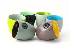 snap cups  set of 6 by invaltdesign on Etsy