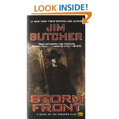 Amazon.com: Storm Front (The Dresden Files, Book 1) (9780451457813): Jim Butcher: Books