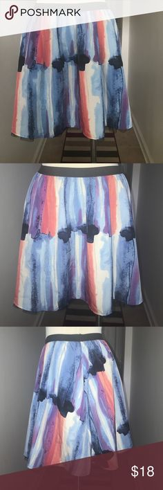 Candies Skater Skirt Size M 😘😘😘 Title Says it all 😘😘 This skirt is super cute and ready to go for summer. Clean with no issues, there are a lot of possibilities to do with this skirt. Open to all reasonable offers for this 😘 Candies  Skirts Midi