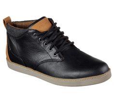 Black leather Hi-Top