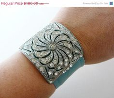 Hey, I found this really awesome Etsy listing at https://www.etsy.com/listing/92866861/sale-leather-cuff-bracelet-sale-vintage