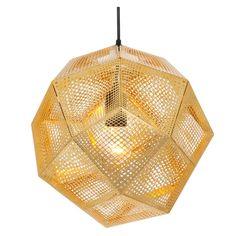 Éclairez votre intérieur avec l'étonnante collection Etch inspirée par les mathématiques, la symétrie et les structures géodésiques et proposée par Tom Dixon.