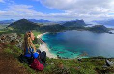 8 flotte fjellturer i Lofoten - Renates Reiser