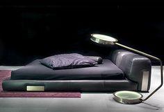 DC Bed Low with Minimalist Design by Ceccotti Collezioni