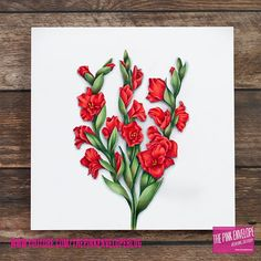 Copic and Colored Pencil Coloring - Power Poppy Gladioli Digital Stamp | The Pink Envelope #powerpoppy #gladioli #digitalstamp #copic #copiccoloring #copicmarkers #coloredpencil #prismacolor #prismacolorpencils #stamping #papercrafting #papercrafter #handmade #handmadecards #cardmaker #cardmaking #papercrafts #nolinecoloring #cardmakersofinstagram #art #diy #crafts #authentic