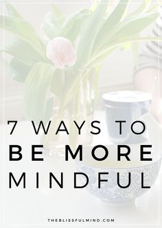 How To Add More Mindfulness Into Your Everyday We all know how important living in the present moment is, but how do you actually stay mindful and present? Here are seven tips to be more mindful in your daily life! Mindfulness Techniques, Mindfulness Exercises, Mindfulness Activities, Mindfulness Practice, Mindfulness Quotes, Mindfulness Meditation, Guided Meditation, Mindfulness Therapy, Mindfulness Coach