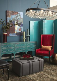 LACQUER SCREEN   Description: Showin in Teal Lacquer Gloss   Dimensions: 88.5W 1.5D 80H