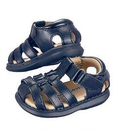 Boy's Cabana Leather Sandals by Scott David (Toddler Boys Sizes 2 - 12) Scott David. $9.99
