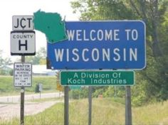 Best Wisconsin Protest Signs: Welcome to Wisconsin